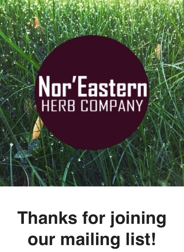 join mailing list scoop introdu - noreasternherb | ello