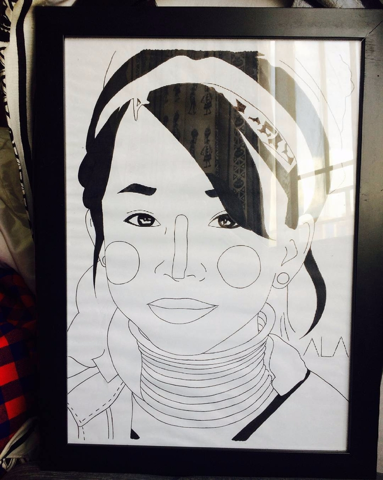 Padung girl   Chiang Mai - thecrazycreative_   ello