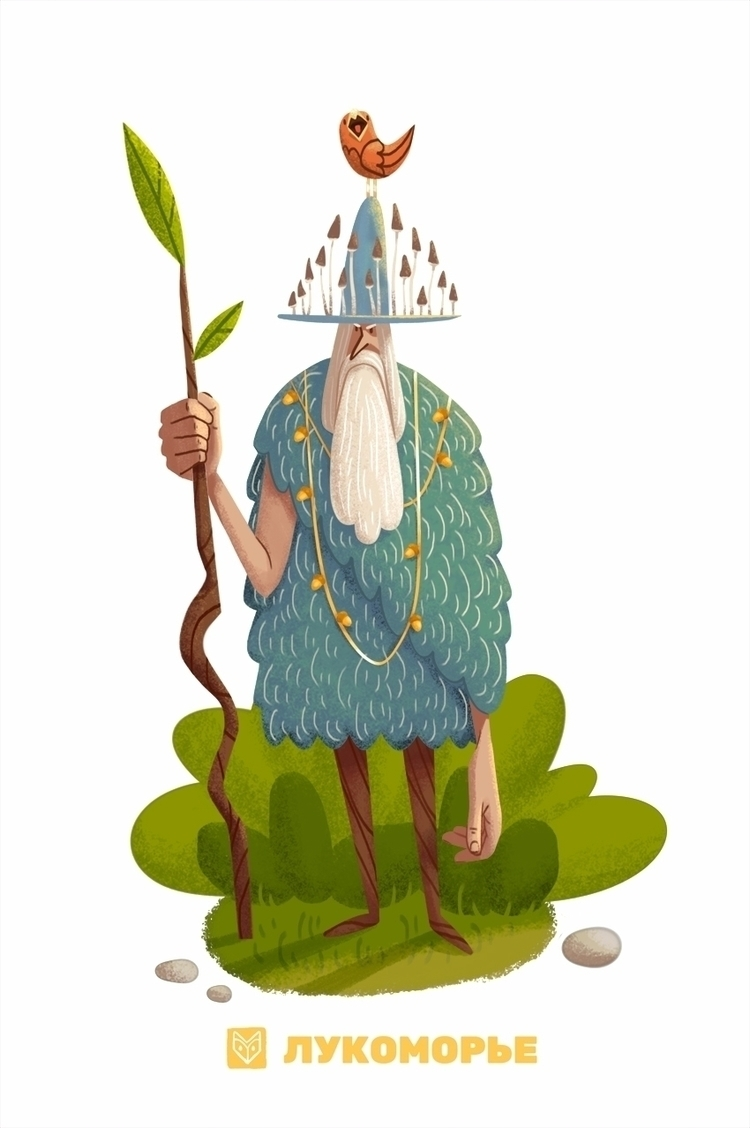 concept woodsman - lukomorie, Illustration - elinanovak | ello