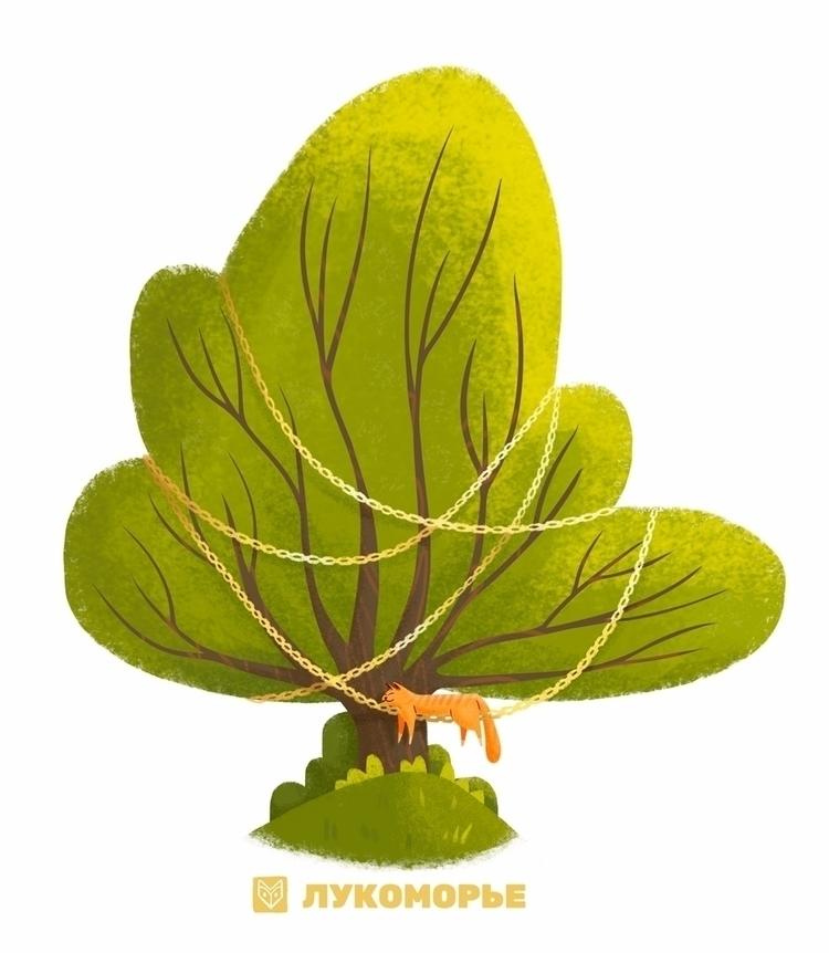 concept oak tree famous russian - elinanovak | ello