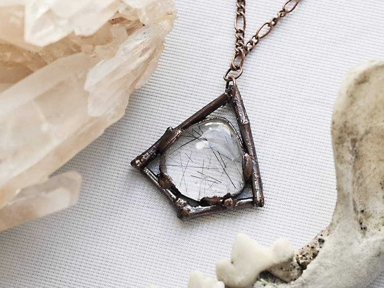 shot pretty tourmalated quartz  - kiley_palmer | ello