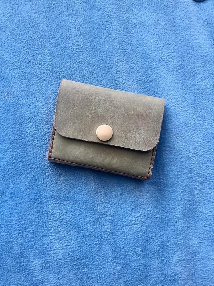card wallet - 2 slots, hidden p - twinflameleatherco | ello