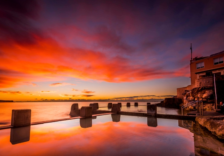 Sunrise Coogee Beach, Sydney Au - keithmcinnes | ello