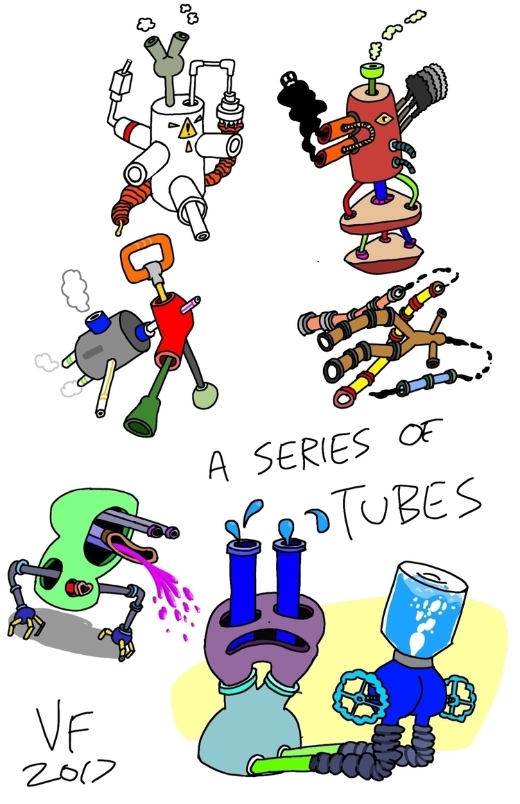 series tubes cell phone doodles - granolafication | ello