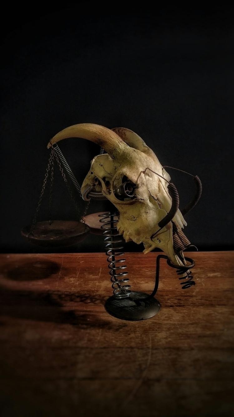 Balance Due - gearsonacid, skull - gearsonacid | ello