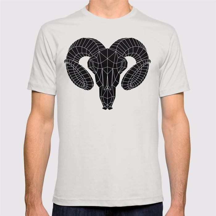 GOAT SKULL / Black White versio - itemlab_designstudio | ello