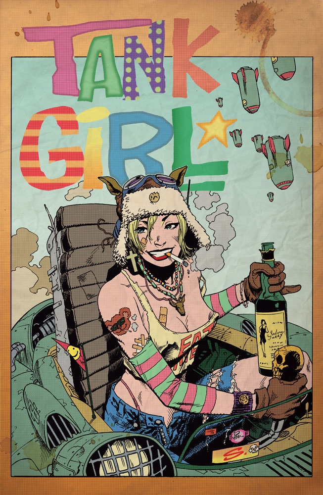 tankgirl, comics, cartoon, art - ukimalefu | ello