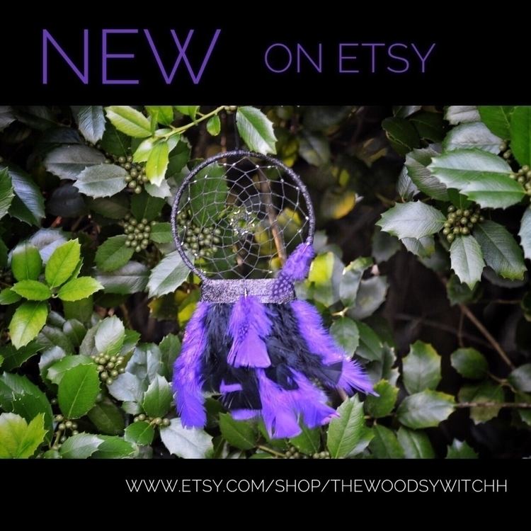 dreamcatcher, etsy, maker, handmade - thewoodsywitchh | ello