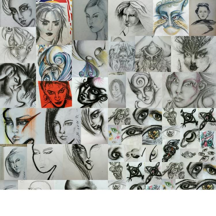 *eye study - emojis - astrabee | ello