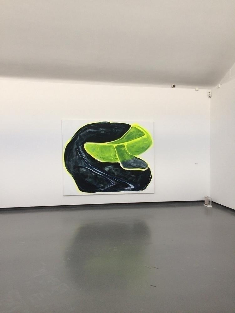Racing Helmet, 2017, acrylic sp - julikageissler | ello