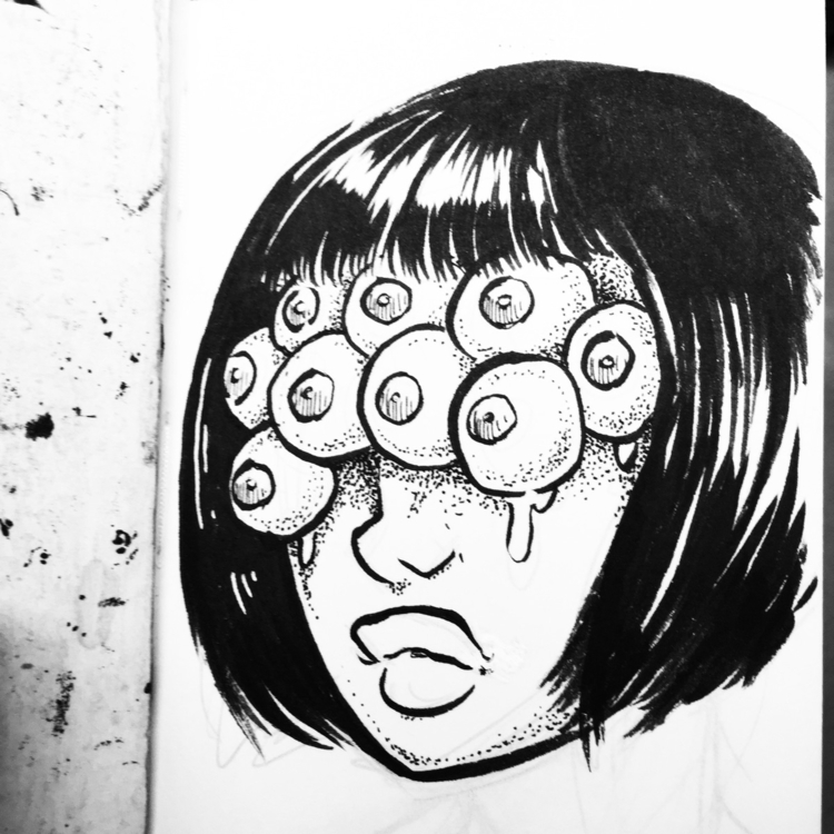 eyes lies - eye, ink - royallyeric | ello