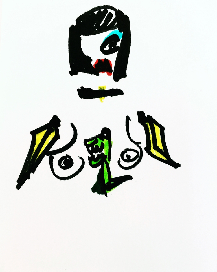 Nude Woman Banana Arms Bangs Ch - jkalamarz | ello
