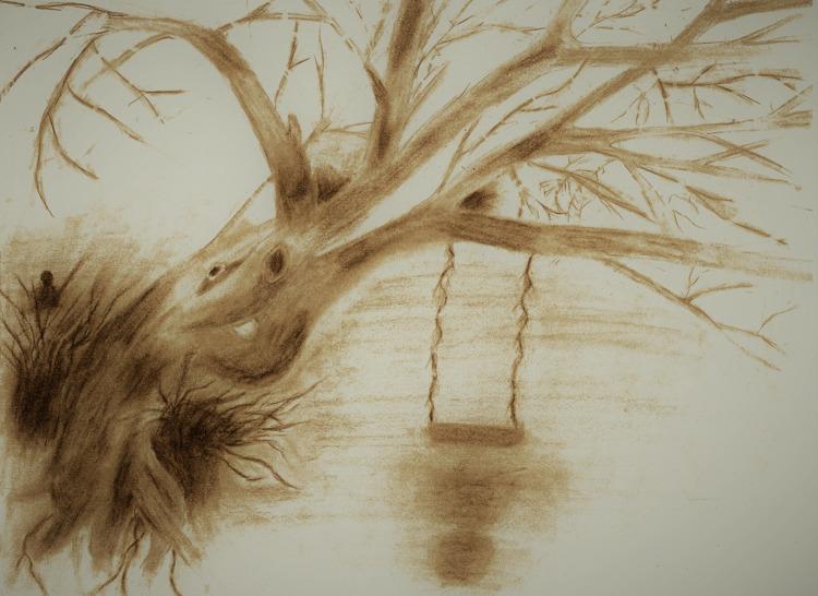 attempt drawing eerie scene sha - whiteoleander | ello