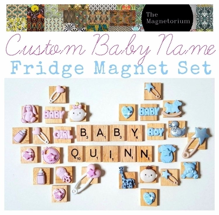 baby shower? GIVE FRIDGE MAKEOV - themagnetorium | ello