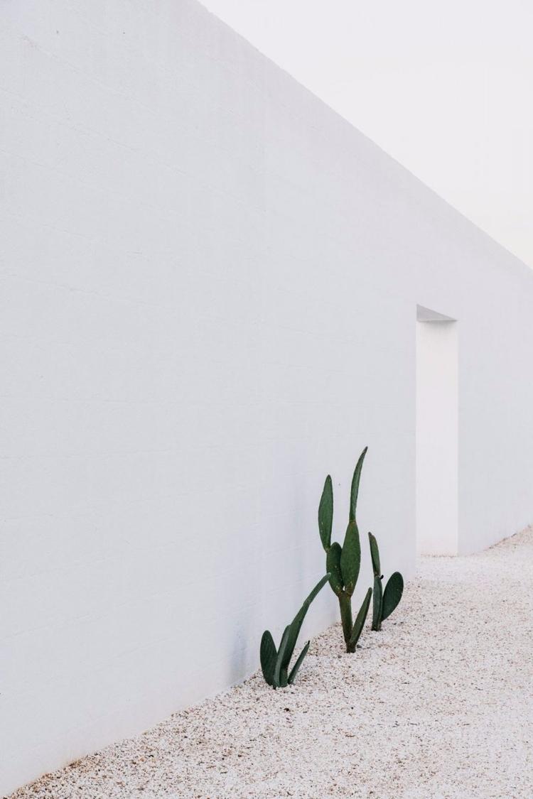 White stone block wall. Masseri - upinteriors | ello