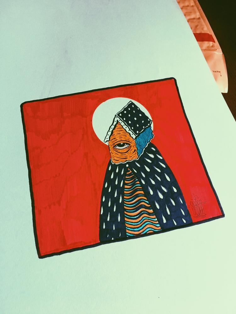 bless - illustration, drawing - seber_13 | ello