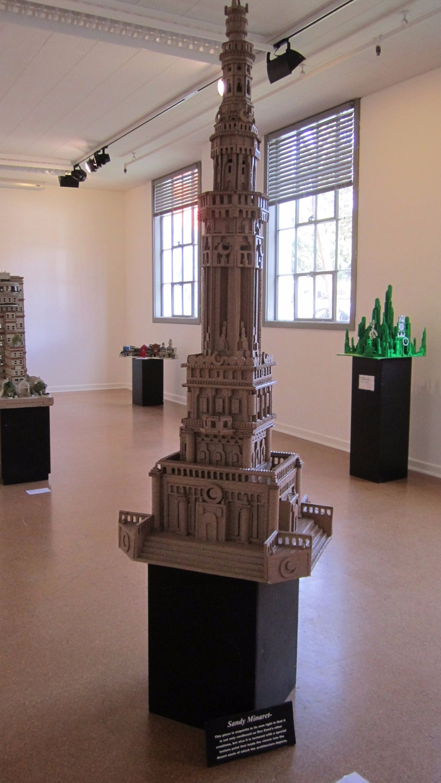 Artist: Ron Zeno Title: Minaret - lamanchagallery | ello