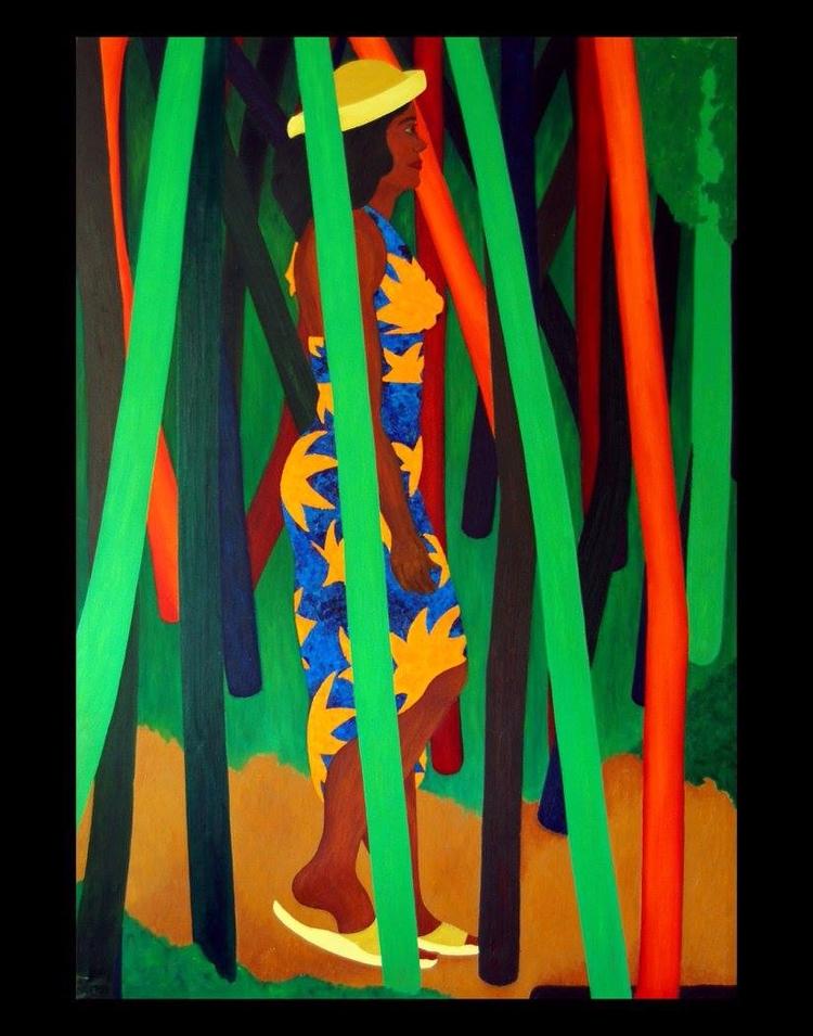 Artist: Donald Frazell Title: U - lamanchagallery | ello
