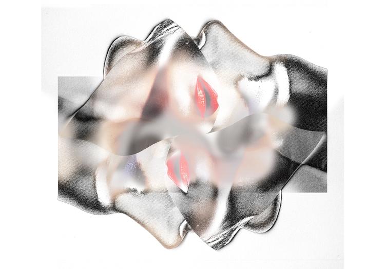 monochrome - digitalartwork, theresalupprich - theresalu   ello