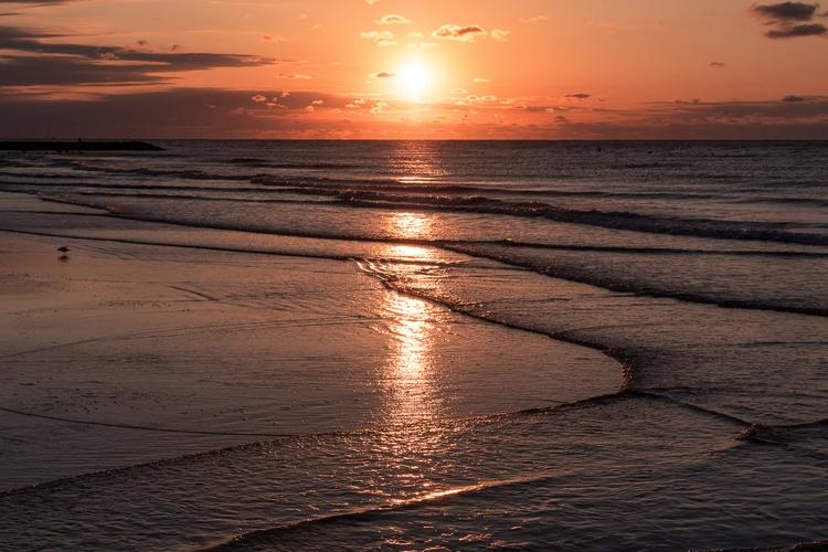 Beach Meets Sun sun rises beach - mattgharvey | ello
