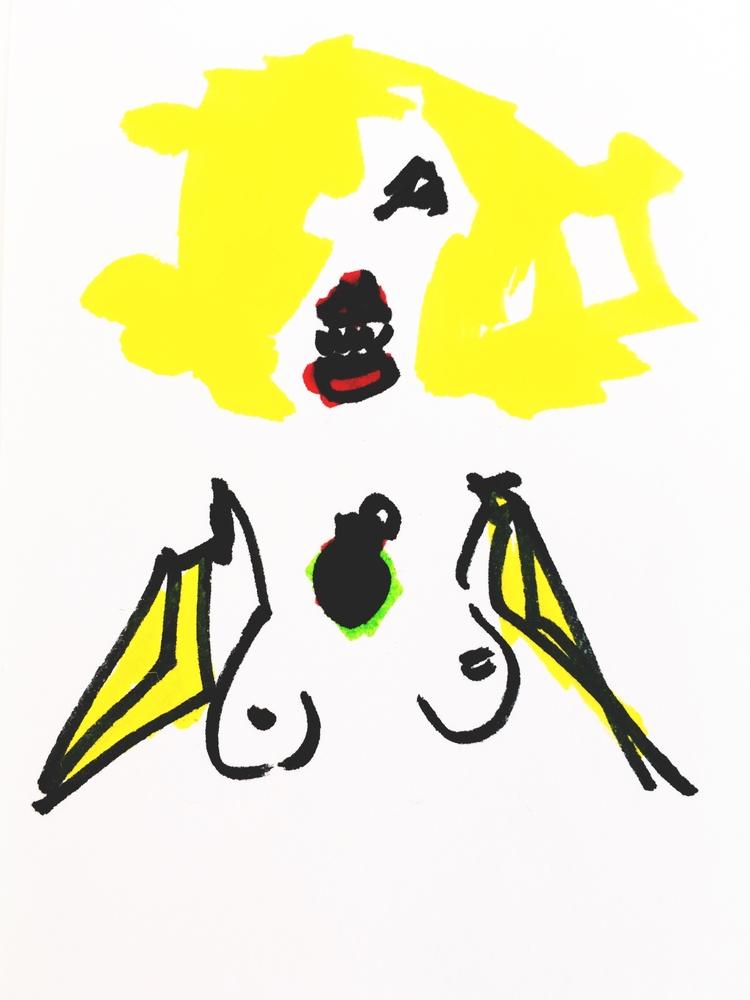 Banana-Armed Nude Tiger Teeth G - jkalamarz | ello