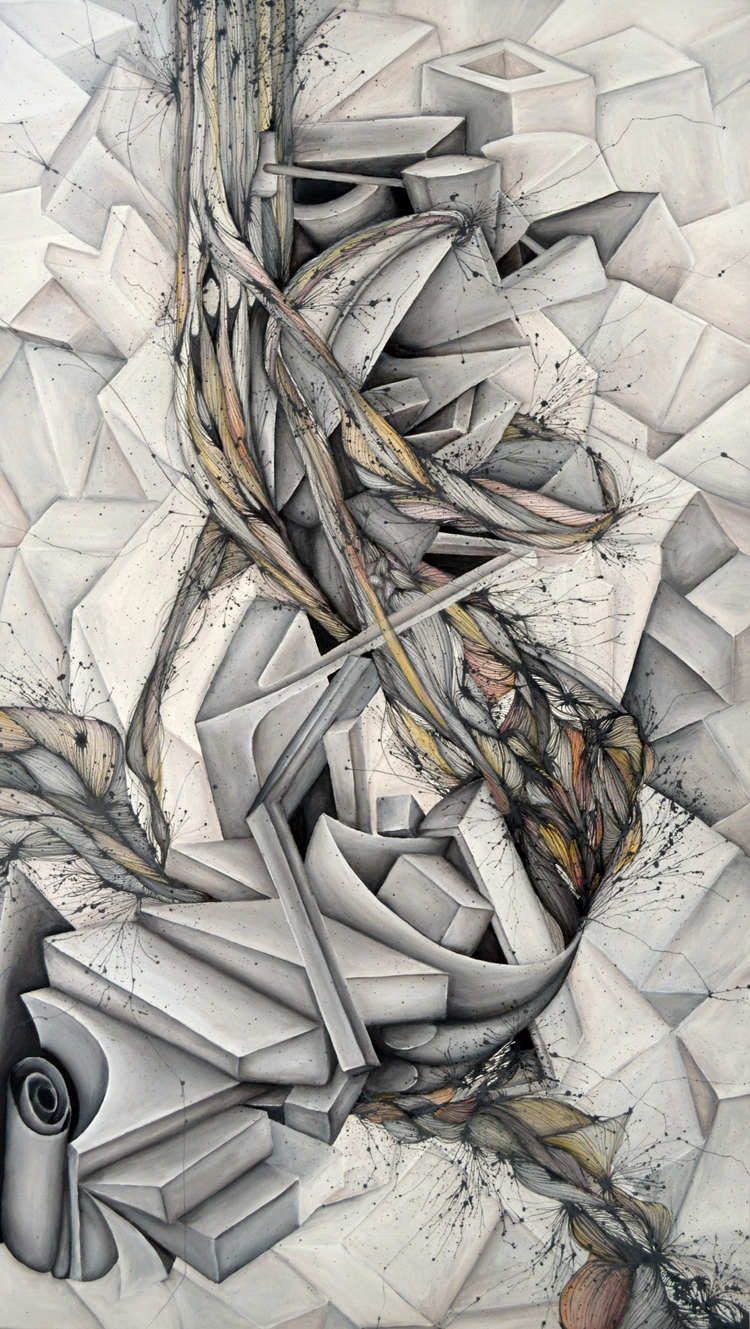 Mineral - 2015 | acrylic canvas - anadesena | ello