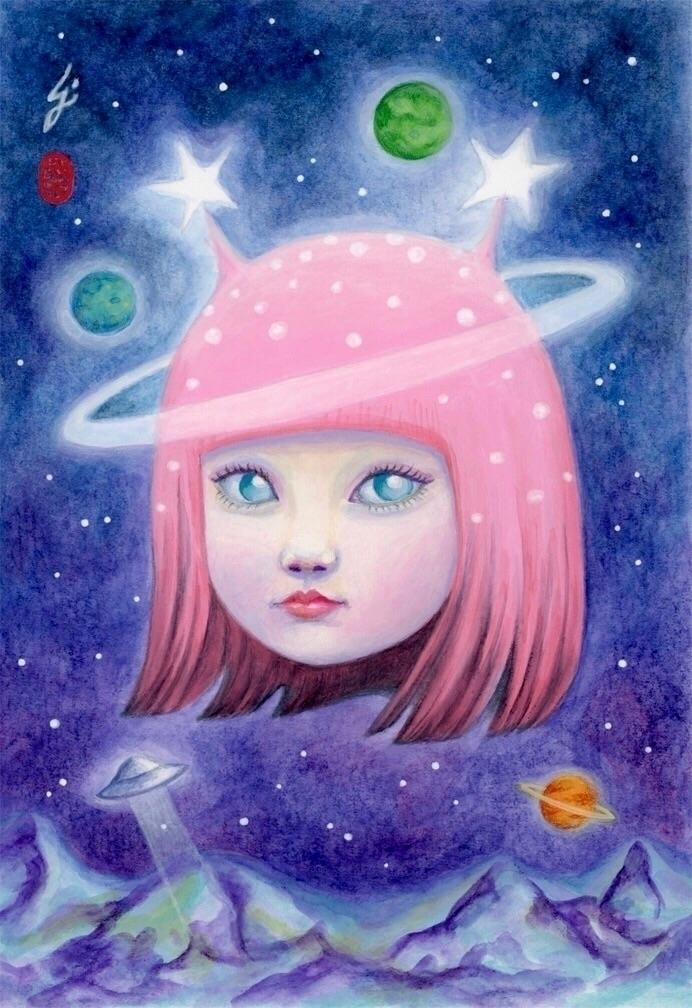 "Presenting: Stars"" ~ Femme Thou - carolinaseth | ello"