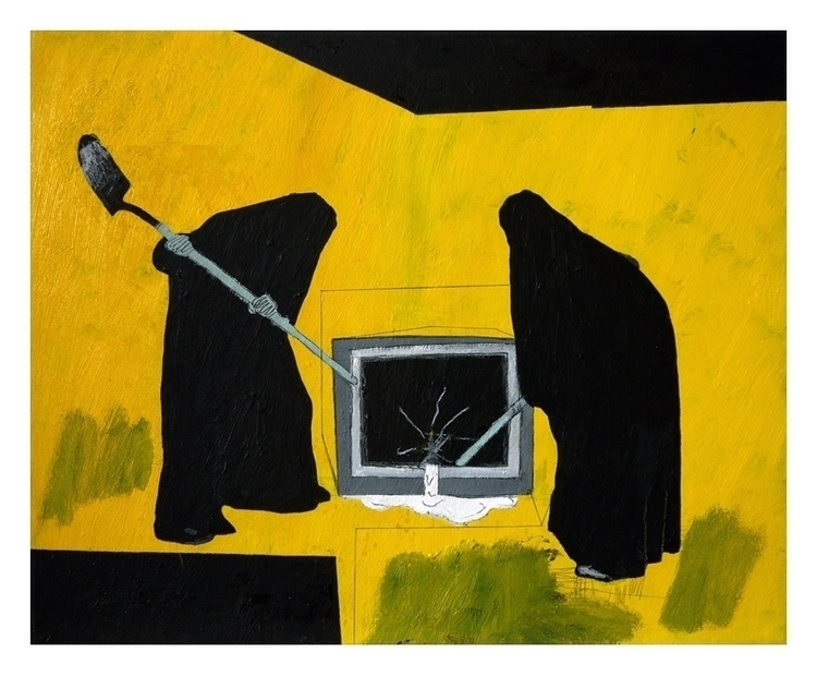 telly cried milk. 50x40cm, 2015 - carpmatthew | ello