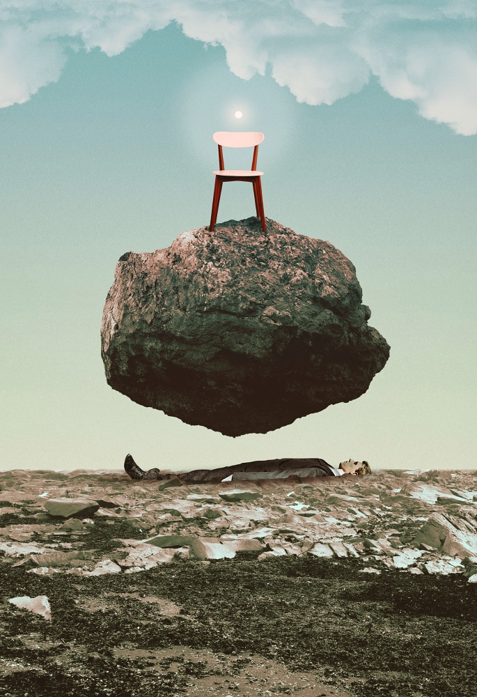 Absent Light (2017 - collage, ellocollage - julienp | ello