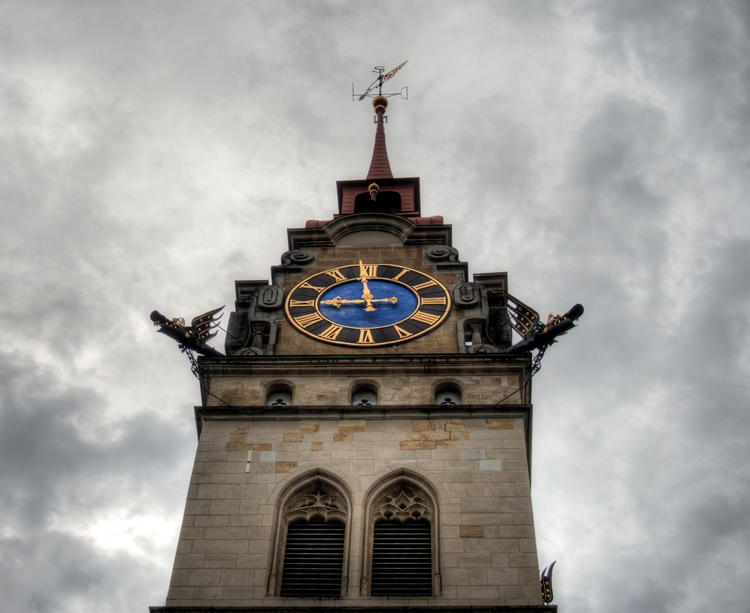 clock Stadtkirche Winterthur -  - neilhoward | ello