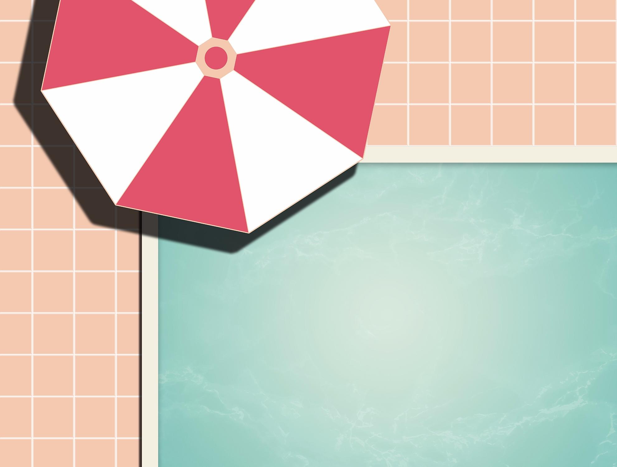 Private Pool swimming pool vect - designdn | ello