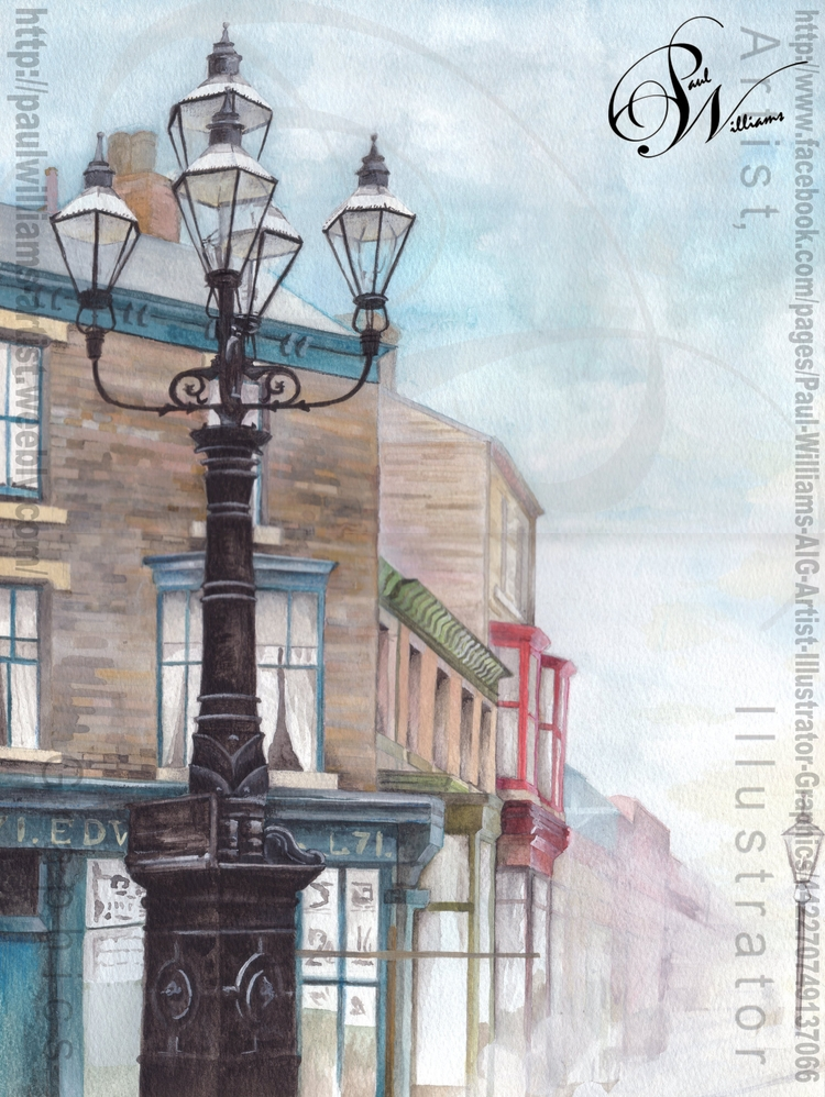 5 Lamps (Misty) Painted Septemb - paul_williams_aig | ello