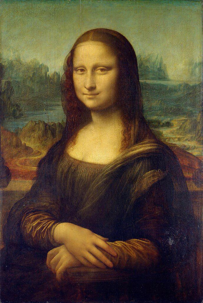 نقاشی مشهور مونالیزا (به فرانسو - negarestanhonar   ello