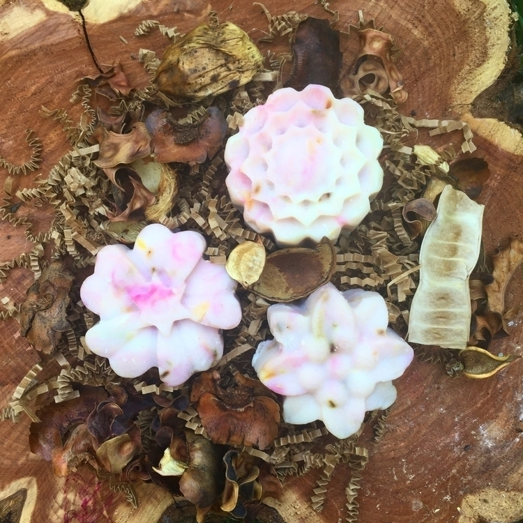 Star Floral Soap Handmade bar s - savageapothecary | ello
