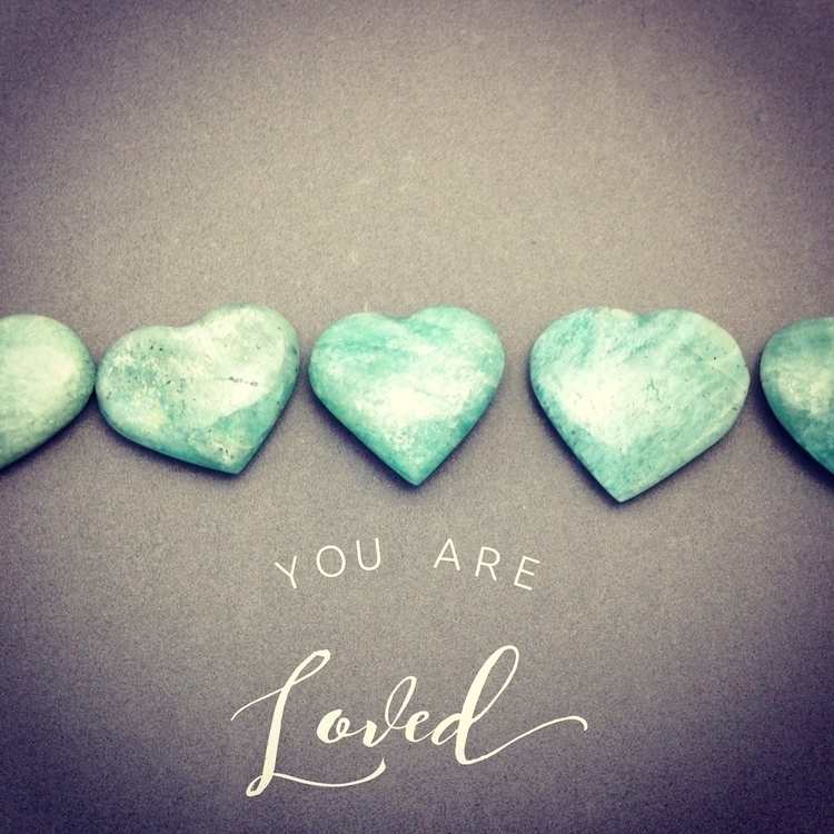 case reminder. amazonite hearts - soulluvshop | ello