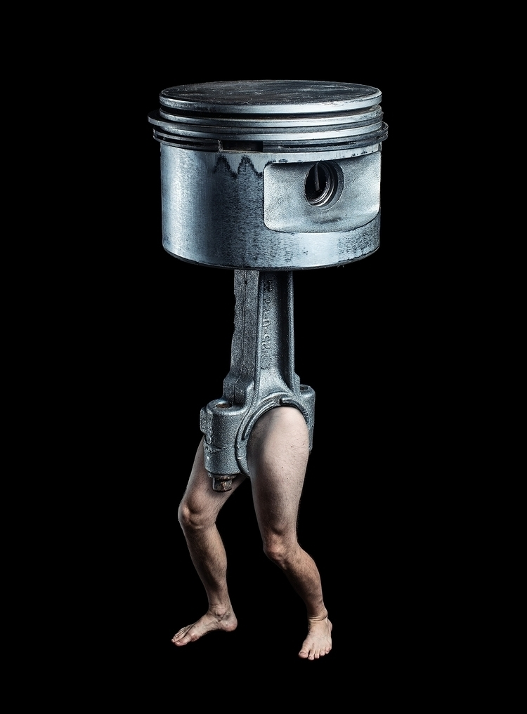 Early Cyborg Technology - surrealism - lionnerd | ello