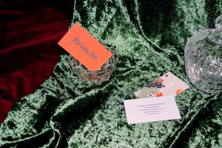 Branché identity Ella Fajdiga - design - dailydesigner | ello