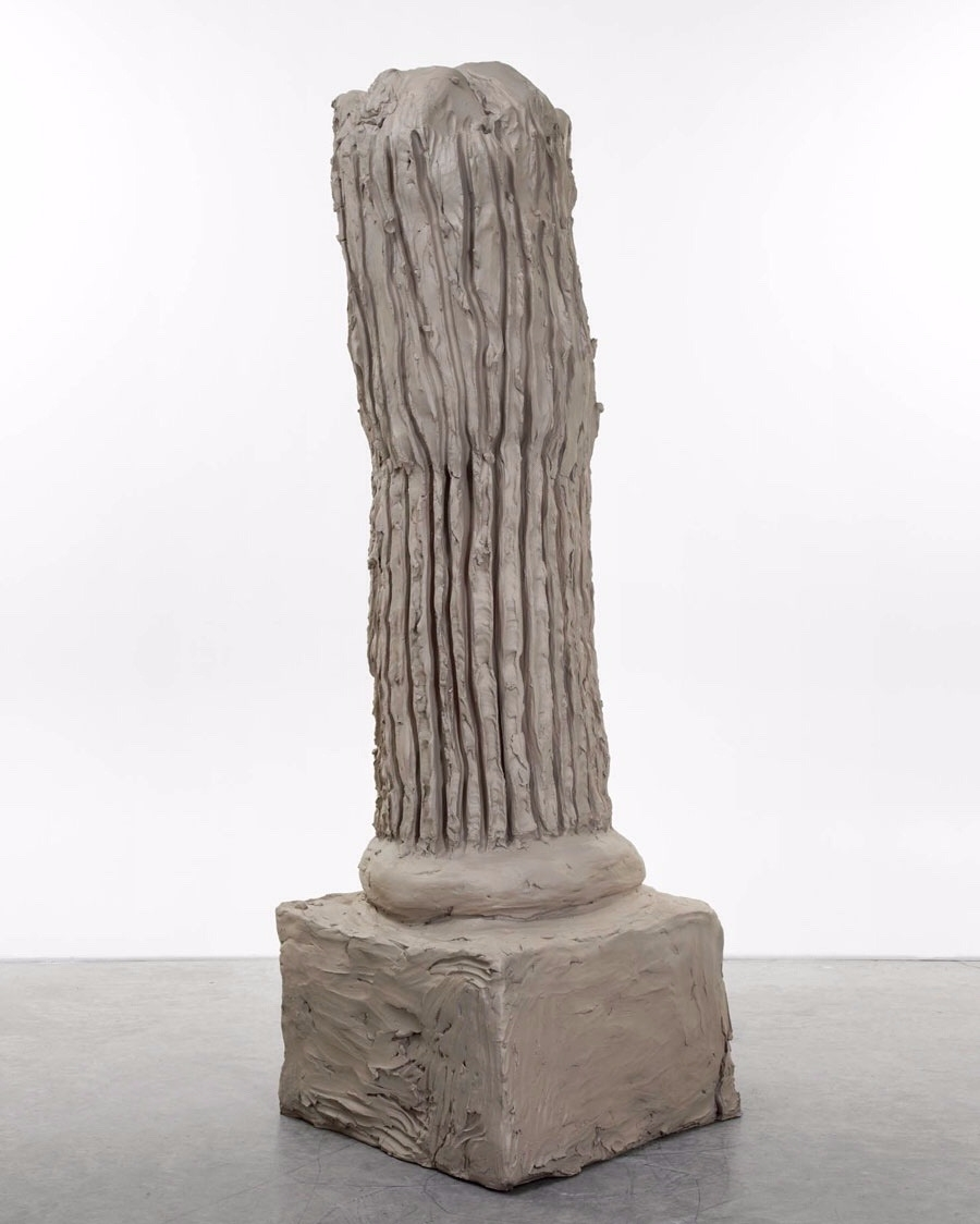 Urs Fischer Column 2014, Cast b - modernism_is_crap | ello