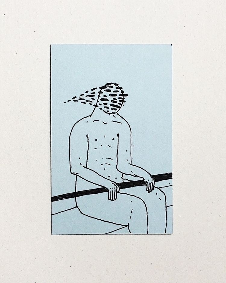 Enjoy ride - sketch, illustration - filmarra | ello