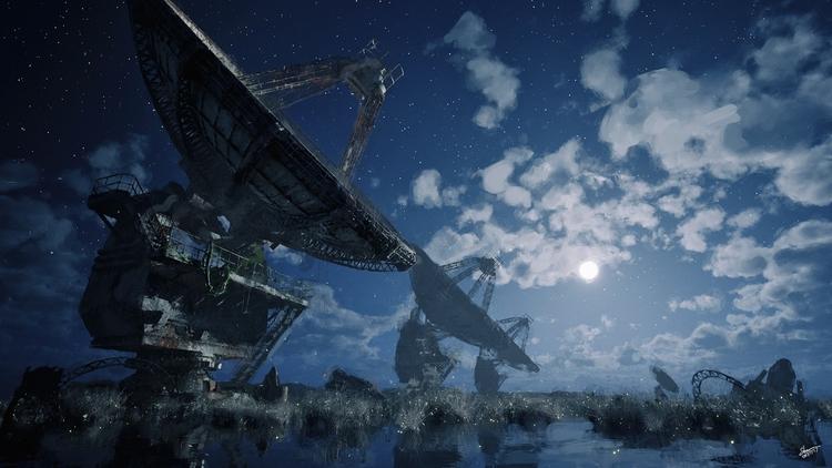 Moon Pence night version https - yuyatakeda | ello