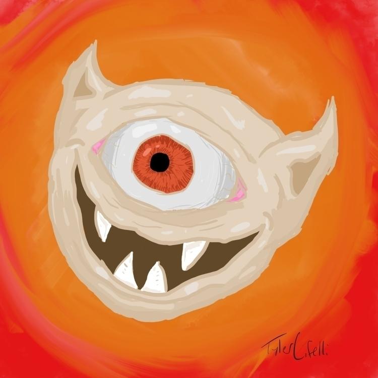 demon head reference - digitalart - thai_lure | ello