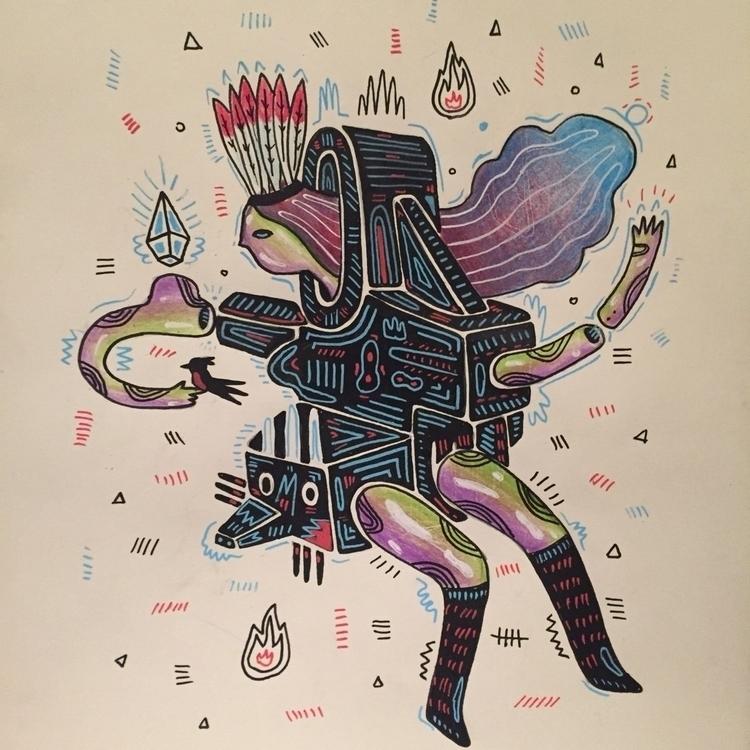 illustration, drawing - galekto | ello