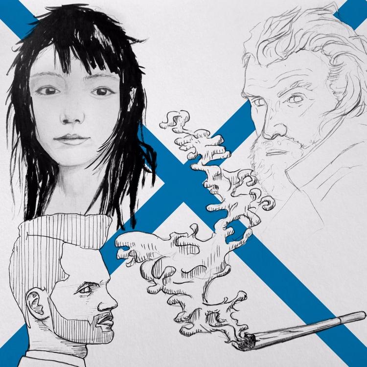 drawings - art, sketches, sketchbook - michaelsart | ello