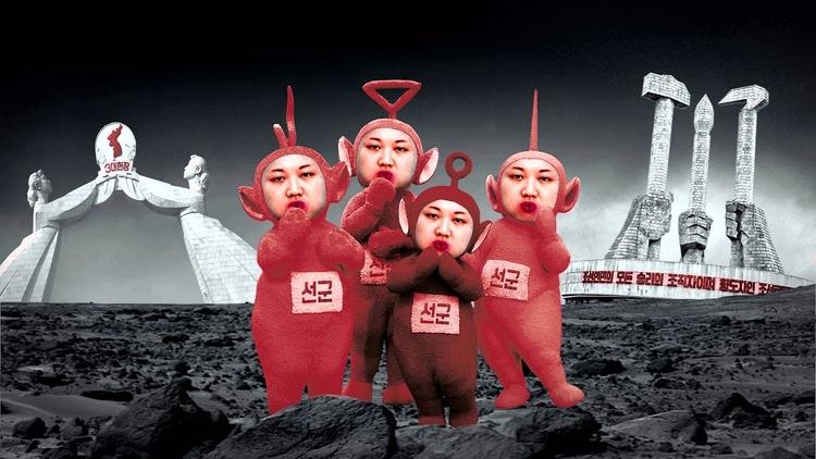 Leader Present - art, crimes, NorthKorea - valosalo   ello