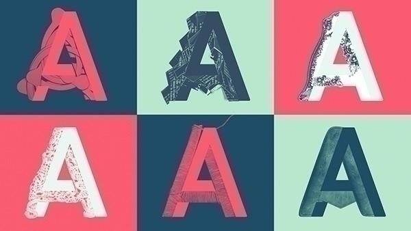 — typographic campaign - grandstories - violakonrad | ello