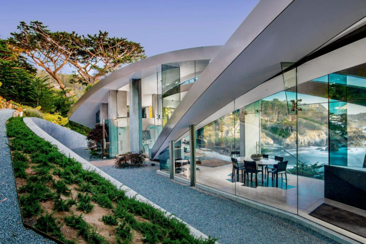 Modern home jaw-dropping ocean  - red_wolf | ello