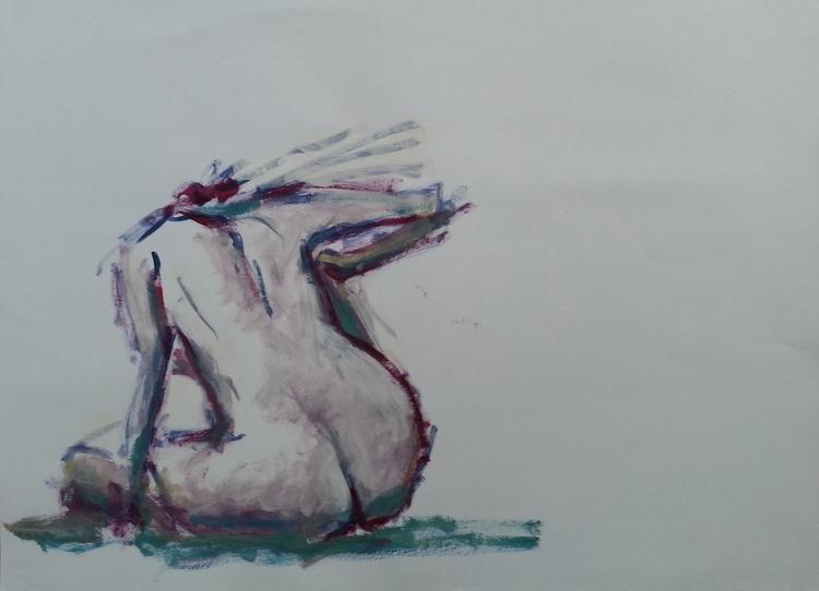 Louisa 08-06-2017 Acrylique sur - olivierjouanard   ello