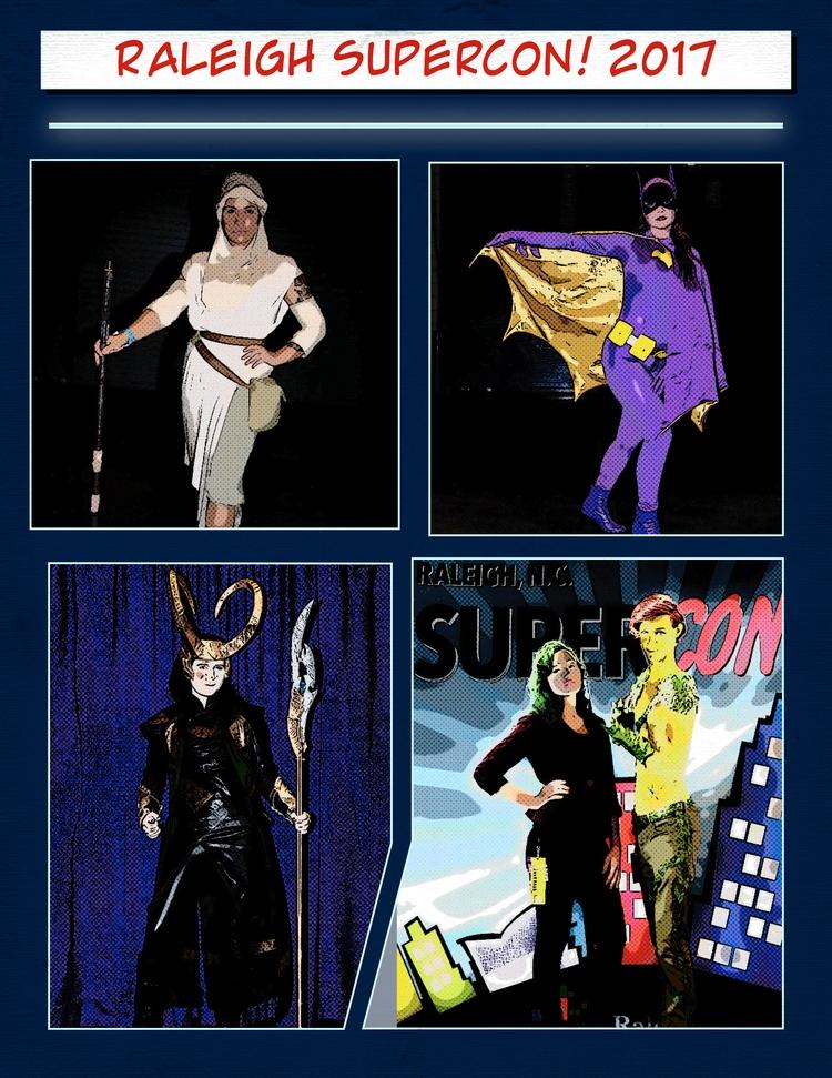 comic,, supercon,, raleigh,, cosplay, - davidapeterson   ello