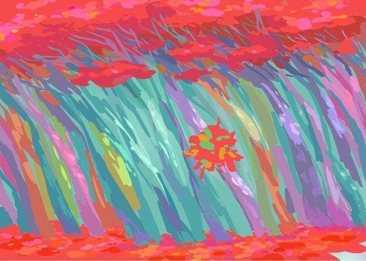 art, illustration, forest - nhuman   ello