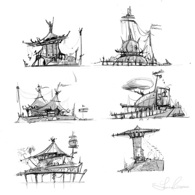 friends. warm sketches fantasy  - lucapisanu | ello